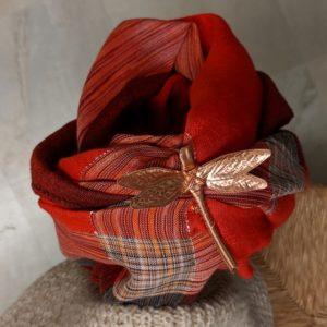 dinah-dressing-up-my-plaid-scarf