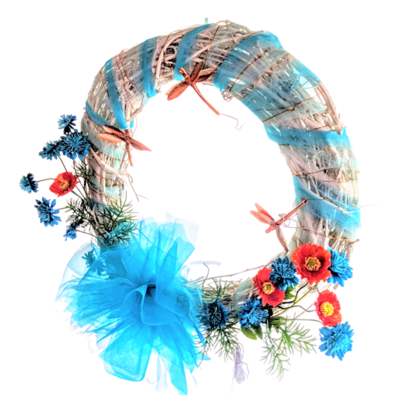 Wreath Blue Solar